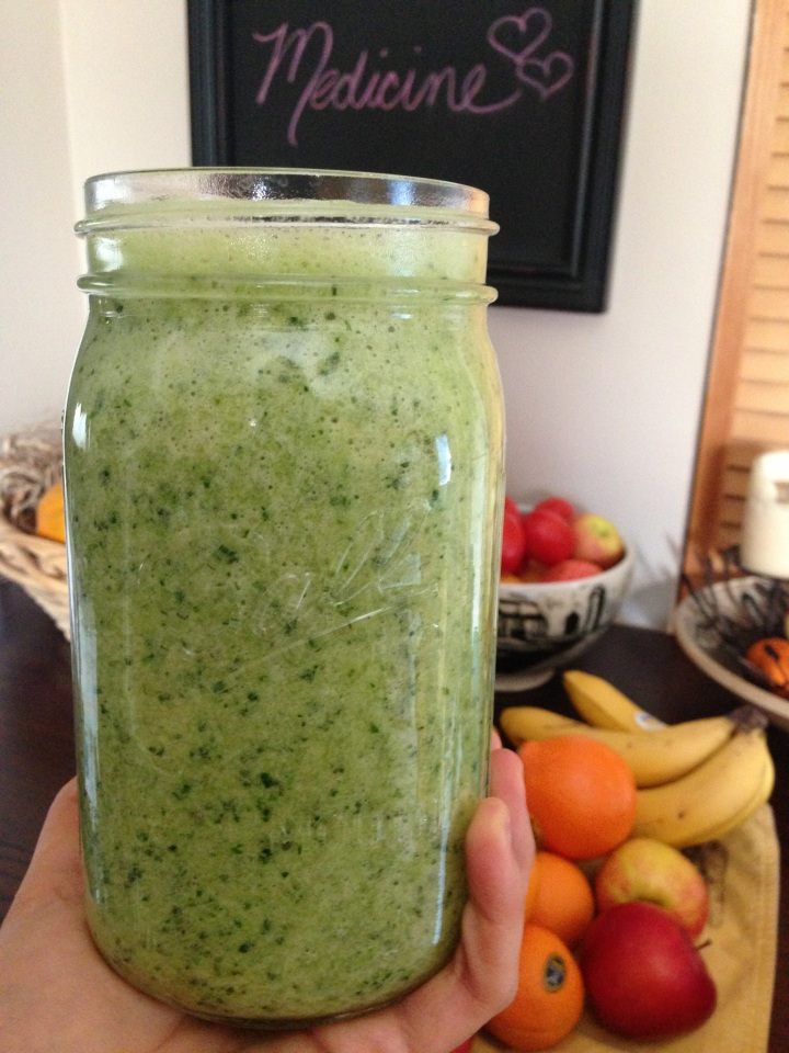 Orange Cilantro Smoothie