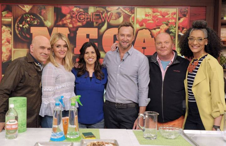 My Guest Appearance on the Emmy Award-Winning TV Show The Chew